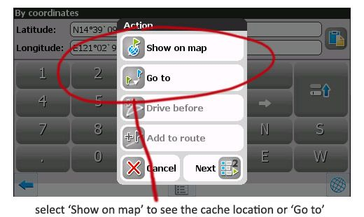 How To Update Cache Coordinates Carnavi Faq Knowledge Base Can I Enter