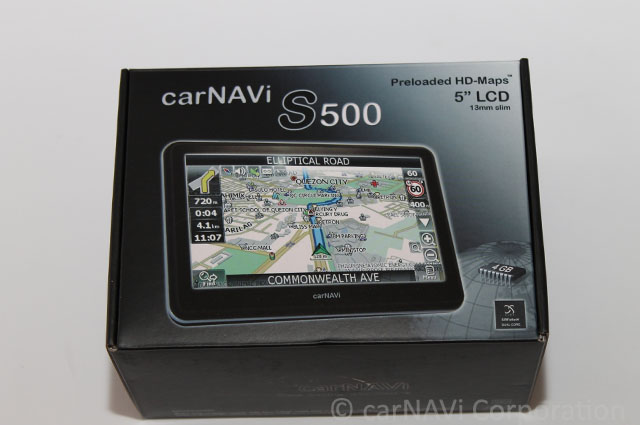 carNAVi S 500 [refurbished] - Click Image to Close
