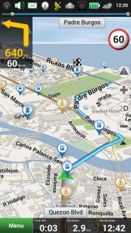 Mapscreenshot Navitel Philippines for smartphones