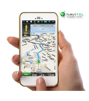 carNAVi GPS smartphone app
